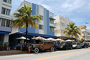 Ocean Drive South Beach, Miami Beach Florida.